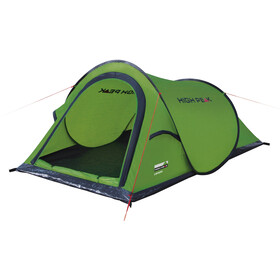 High Peak Campo Tent, green/phantom
